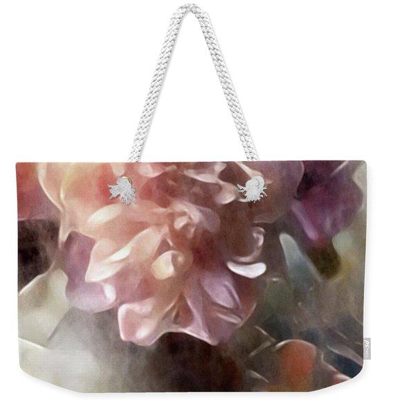 Soft Pastel Peonies Weekender Tote Bag