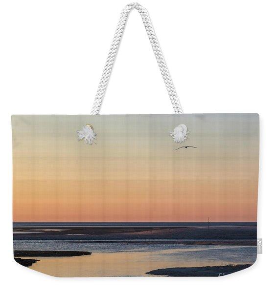 Soft Summer Eve Weekender Tote Bag