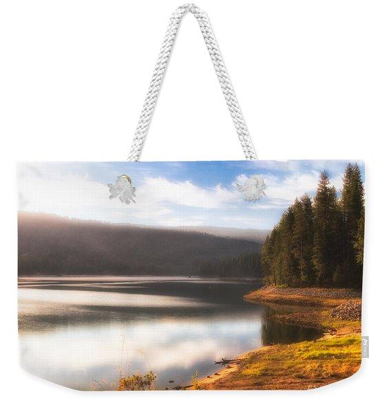 Soft Sunrise Weekender Tote Bag