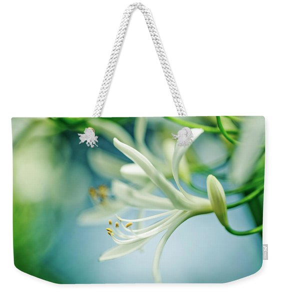 Soft White Weekender Tote Bag