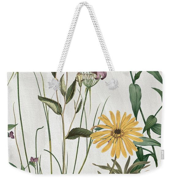 Softly Crocus And Daisy Weekender Tote Bag