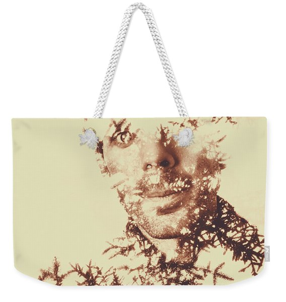 Solace Of Spirit Within Weekender Tote Bag