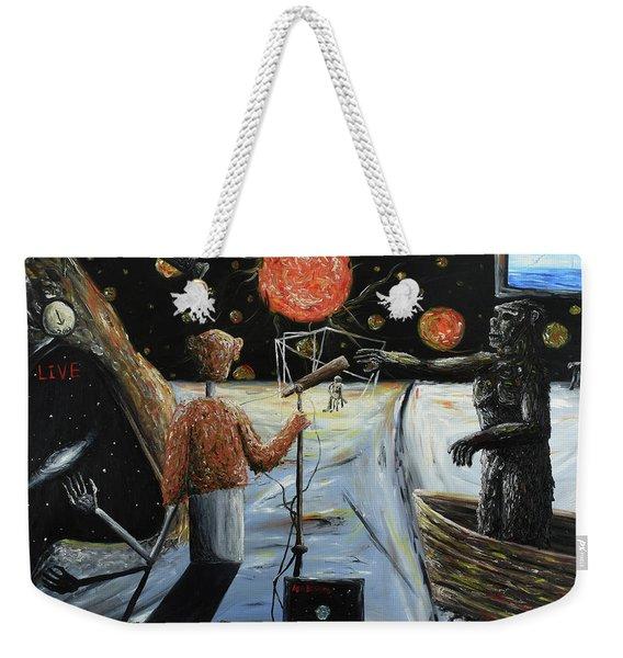 Solar Broadcast -transition- Weekender Tote Bag