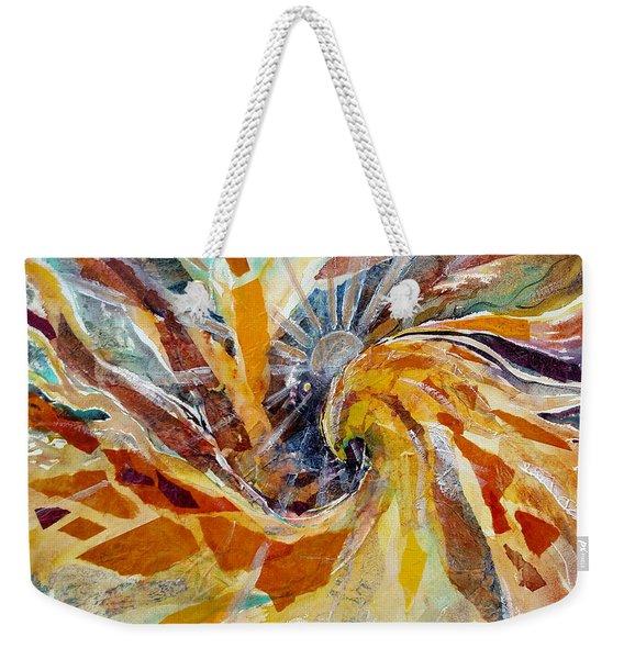 Solar Chakra Meditation Weekender Tote Bag