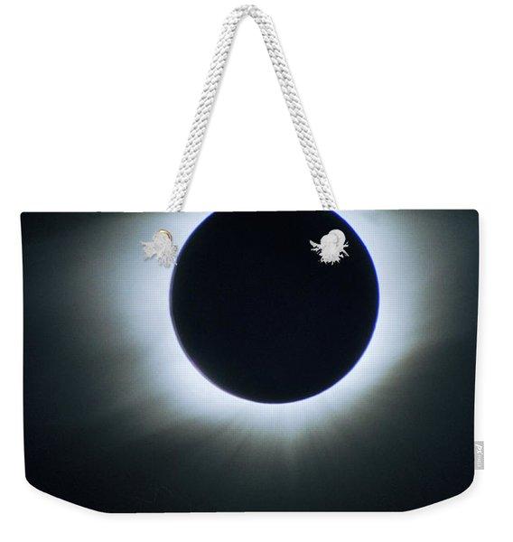Solar Eclipse Aruba 1998 Weekender Tote Bag