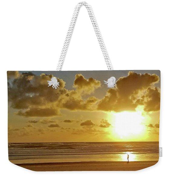Solar Moment Weekender Tote Bag