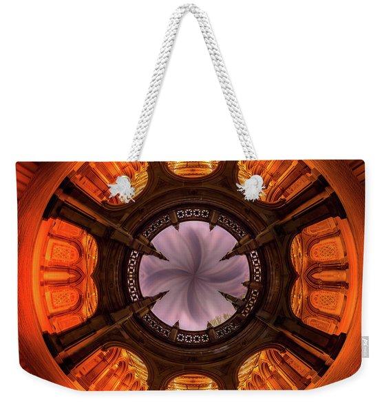 Solar Worship Weekender Tote Bag