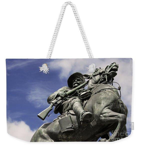 Soldier In The Boer War Weekender Tote Bag