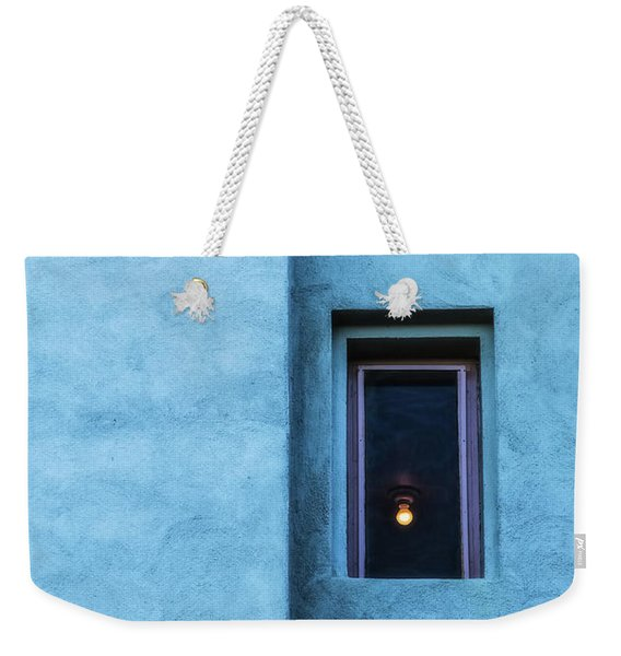 Weekender Tote Bag featuring the photograph Solitary by Laura Roberts