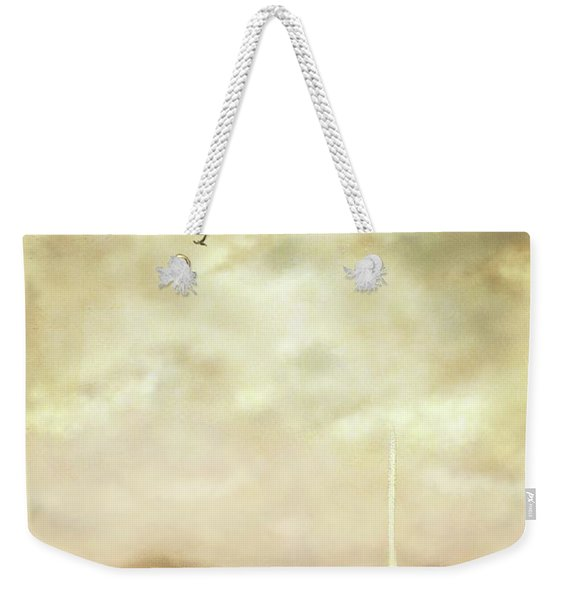 Solitary Sailor Weekender Tote Bag