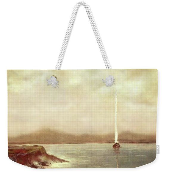 Solitary Sailor Weekender Tote Bag