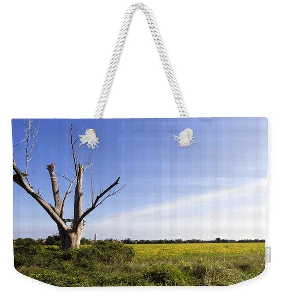 Solitary Tree Weekender Tote Bag