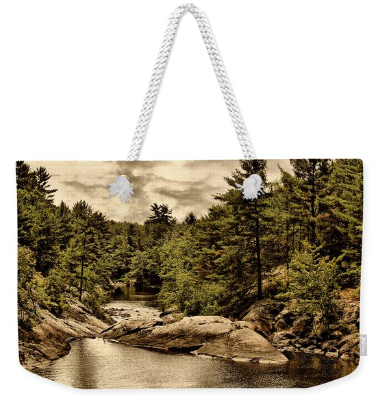 Solitary Wilderness Weekender Tote Bag