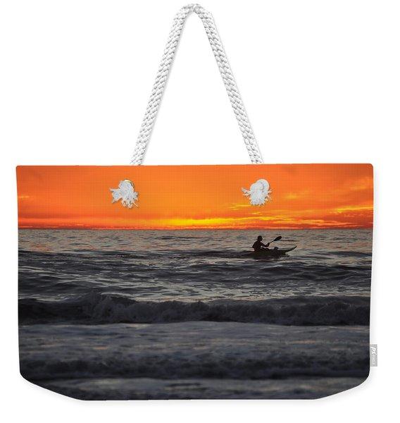 Solitude But Not Alone Weekender Tote Bag