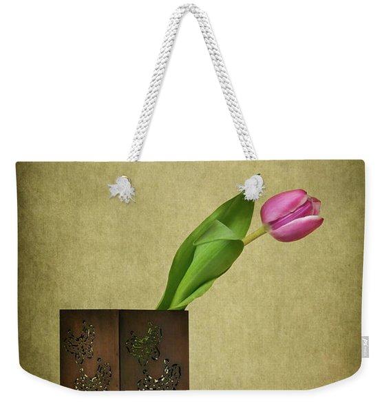 Solitude In Bloom Weekender Tote Bag