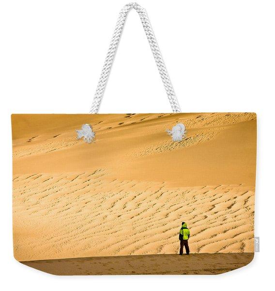 Solitude In The Dunes Weekender Tote Bag