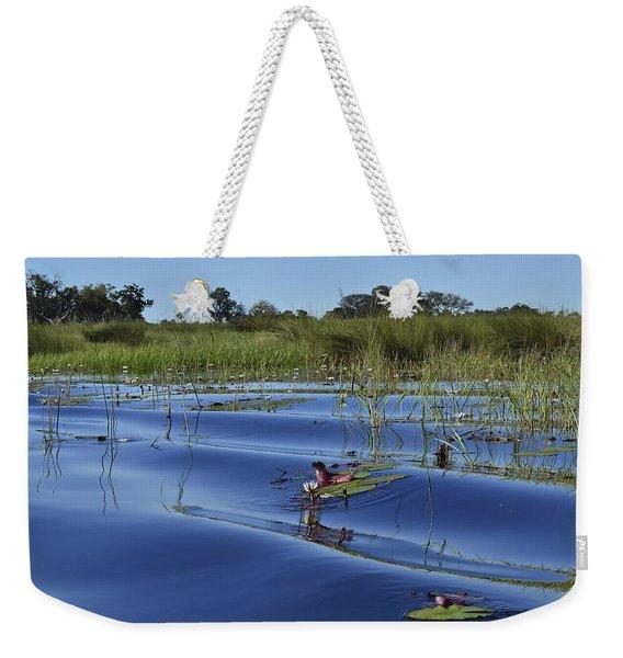 Solitude In The Okavango Weekender Tote Bag