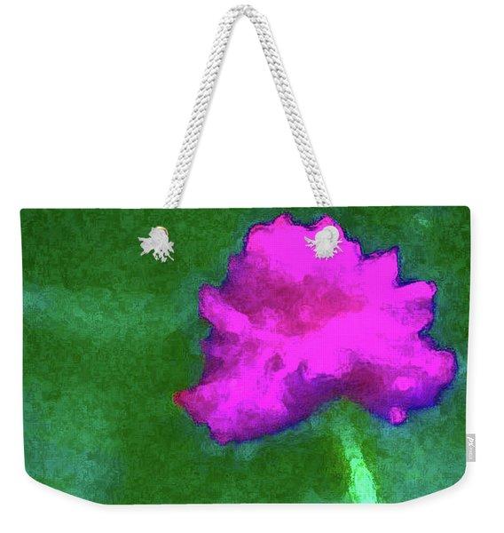 Solo Flower Weekender Tote Bag