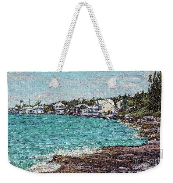 Solomons Lighthouse Weekender Tote Bag