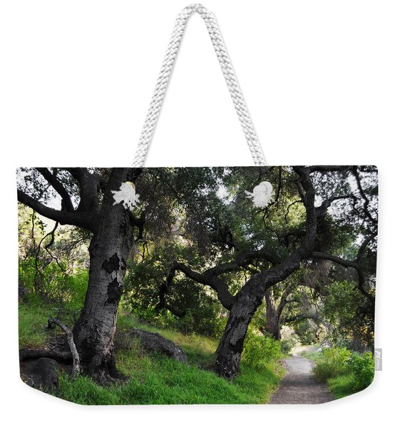 Solstice Canyon Live Oak Trail Weekender Tote Bag