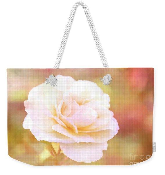 Solstice Rose Weekender Tote Bag