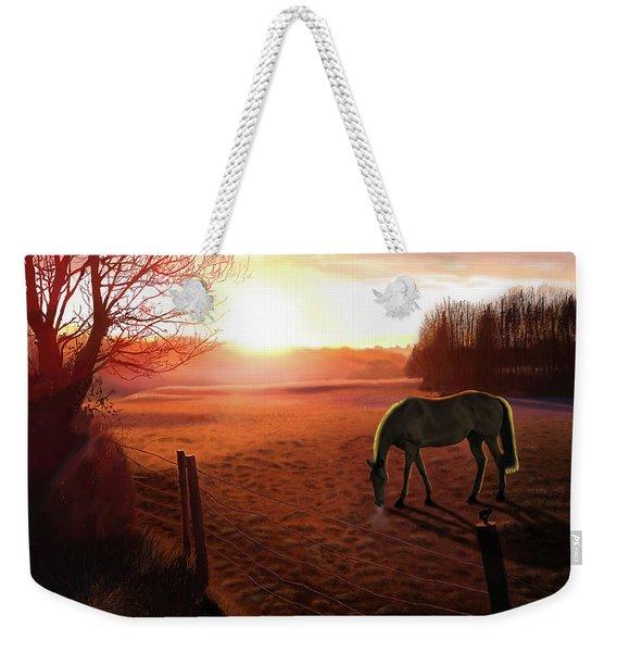 Solstice Sunrise Weekender Tote Bag