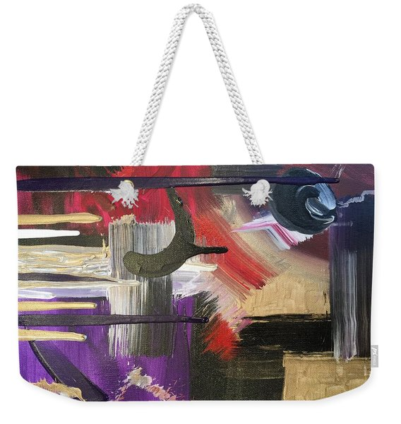 Solvent Cosmo Weekender Tote Bag