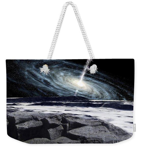 Some Galaxies Have Powerfully Active Weekender Tote Bag