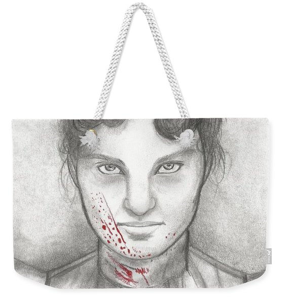 Someone Has Killed Father Weekender Tote Bag