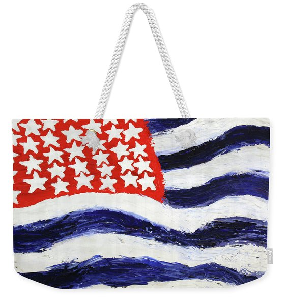 Something's Wrong With America Weekender Tote Bag
