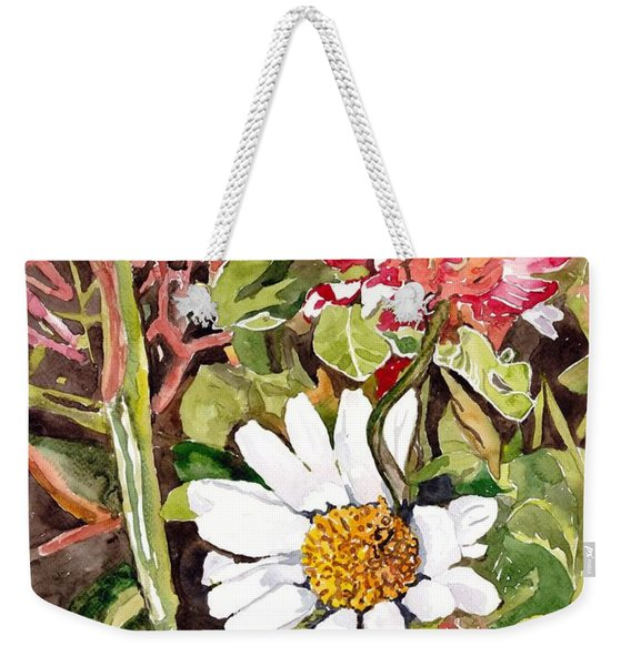Somewhere In The Grass Weekender Tote Bag