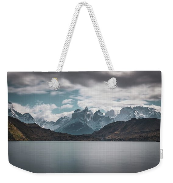 Somewhere Over The Mountain Range Weekender Tote Bag