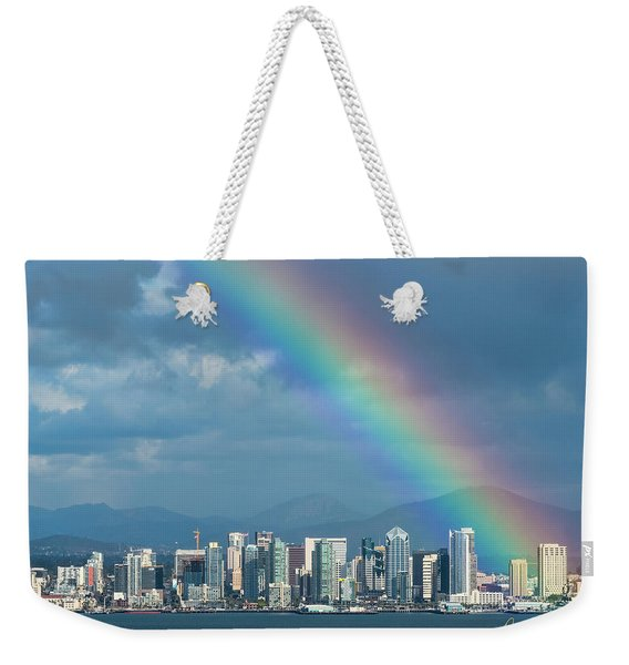 Somewhere Under Weekender Tote Bag