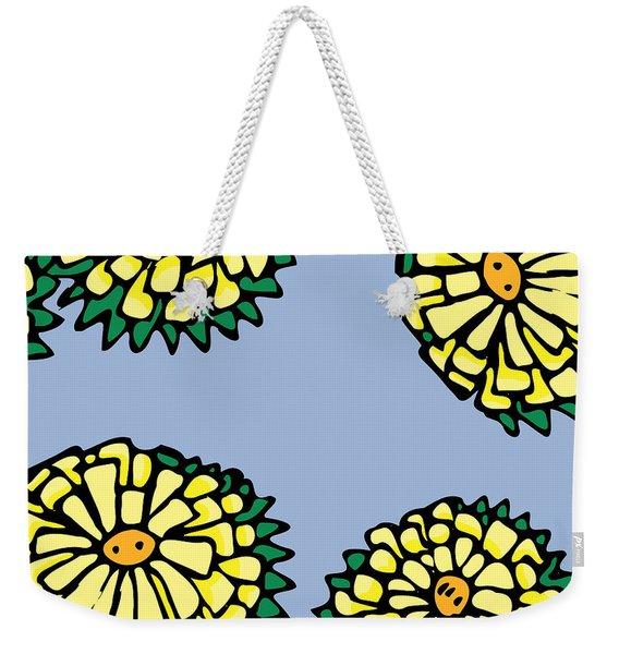 Sonchus In Color Weekender Tote Bag