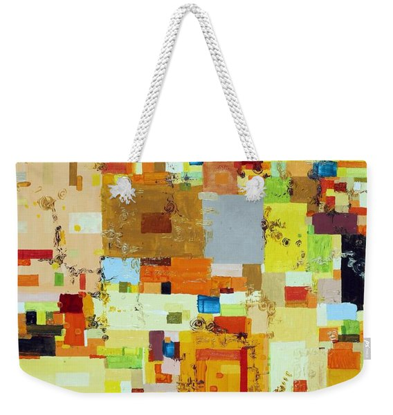 Song Of Solar Fusion Weekender Tote Bag