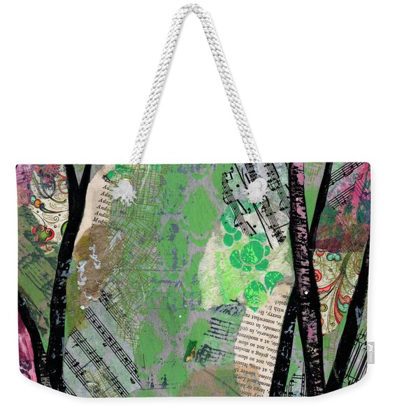 Song Of The Trees II Weekender Tote Bag