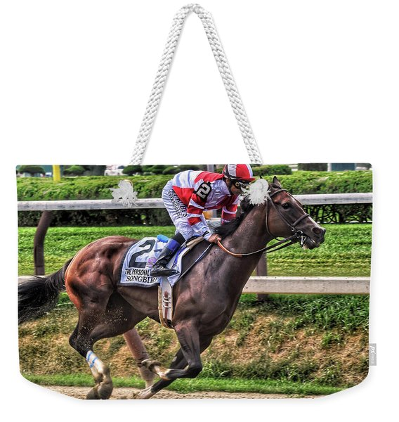 Songbird With Mike Smith Saratoga August 2017 Weekender Tote Bag