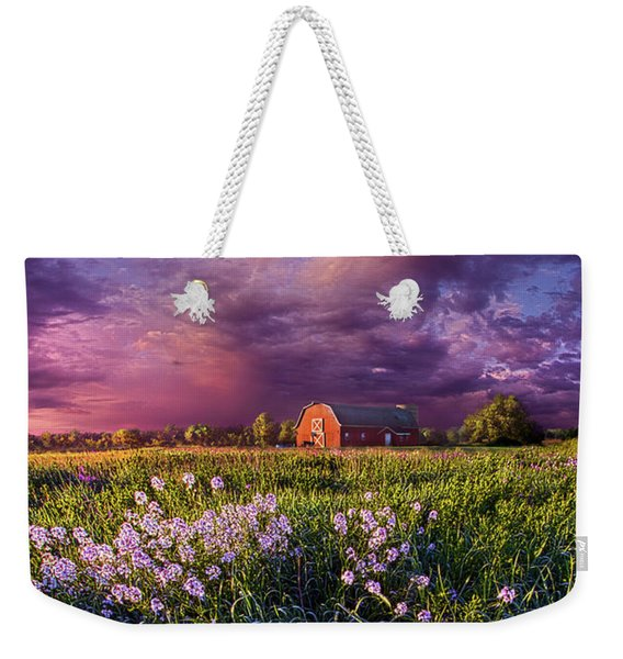 Songs Of Days Gone By Weekender Tote Bag