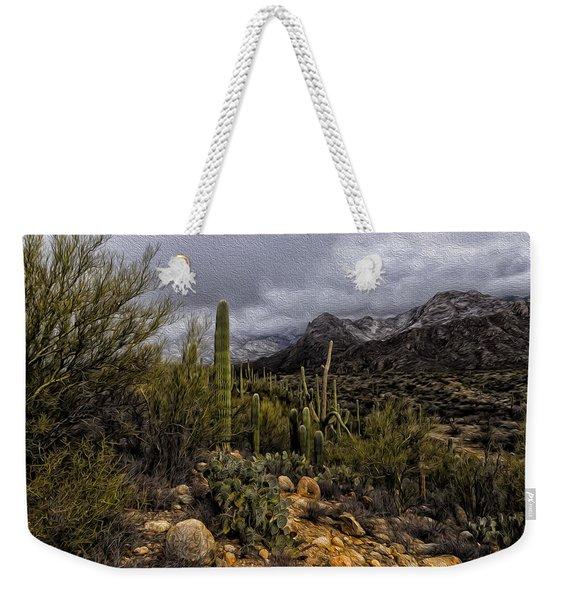 Sonoran Winter No.3 Weekender Tote Bag