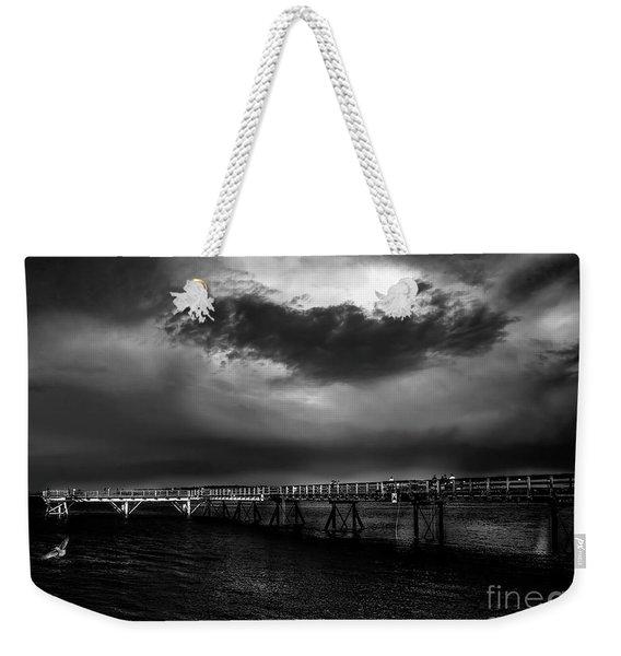 Soon It's Gonna Rain Weekender Tote Bag