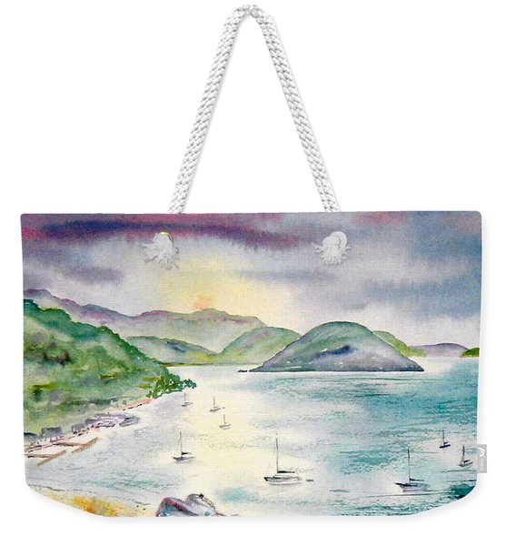 Sopers Hole Sunset Weekender Tote Bag
