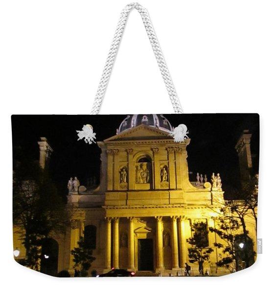 Sorbonne Night Weekender Tote Bag