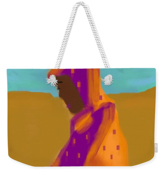 Sorrowful Mother Of The Past And Present Weekender Tote Bag