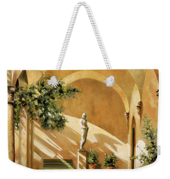 Sotto Il Portico Weekender Tote Bag
