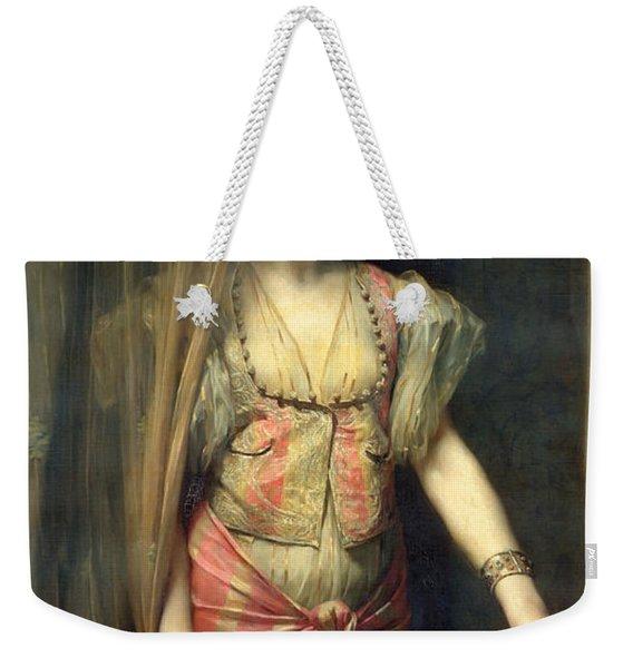 Soudja Sari Weekender Tote Bag