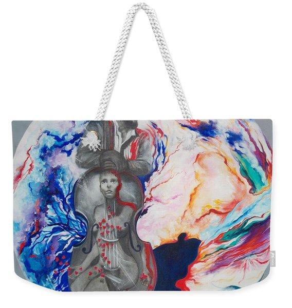 Blaa Kattproduksjoner             Soul Seduction Weekender Tote Bag