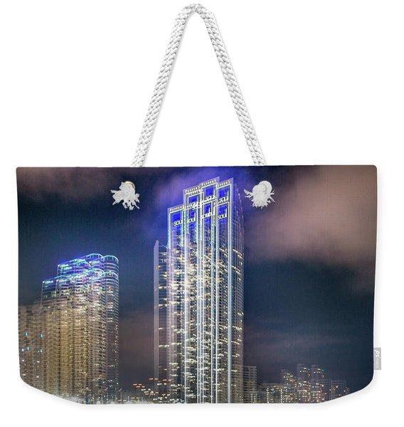Soul Vibrations Weekender Tote Bag