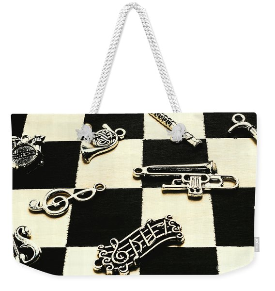 Sound Cheque Weekender Tote Bag