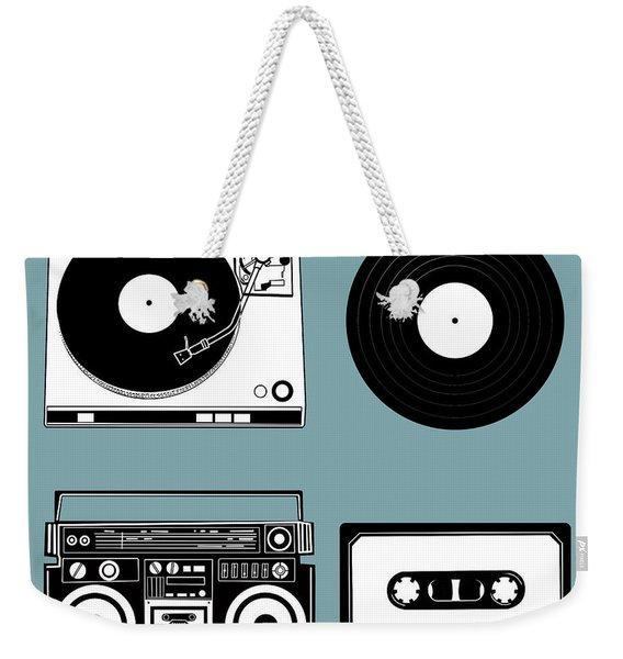 Sound Evolution 11 Weekender Tote Bag