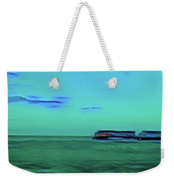 Sound Of A Train In The Distance Weekender Tote Bag